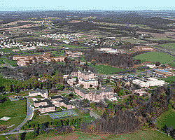 Aerial Photo of the National Emergency Training Center Campus